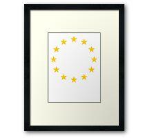 EU Framed Print