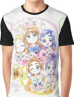 Precure Splash Star Graphic T-Shirt