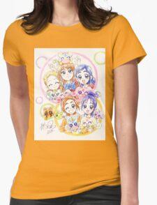 Precure Splash Star Womens Fitted T-Shirt