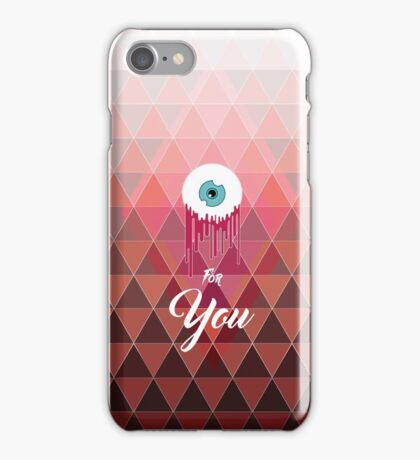 Love is not blind iPhone Case/Skin