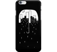 Umbrella City iPhone Case/Skin