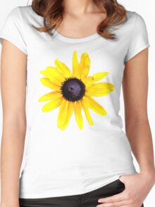 Daisy Brings Sunshine into your life Women's Fitted Scoop T-Shirt