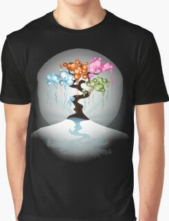 The Four Seasons Bubble Tree - Tee Graphic T-Shirt
