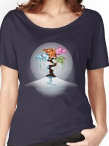 The Four Seasons Bubble Tree - Tee Women's Relaxed Fit T-Shirt