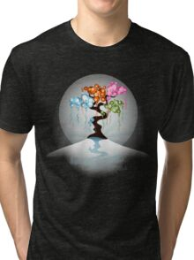 The Four Seasons Bubble Tree - Tee Tri-blend T-Shirt