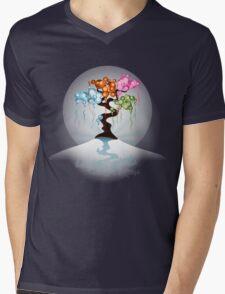 The Four Seasons Bubble Tree - Tee Mens V-Neck T-Shirt
