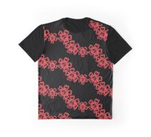 Red Hibiscus Flower Graphic T-Shirt