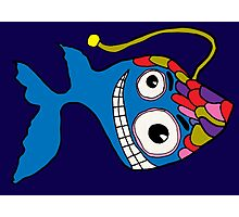 Happy Ghost Fish Photographic Print