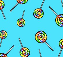 Rainbow Lollipop  Sticker
