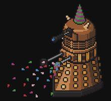 Birthday Dalek - Pixel Art Baby Tee