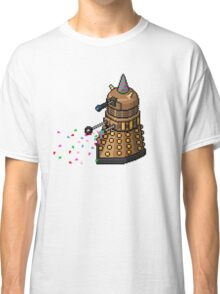Birthday Dalek - Pixel Art Classic T-Shirt