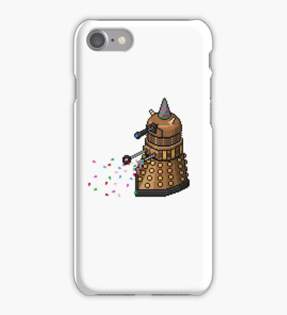 Birthday Dalek - Pixel Art iPhone Case/Skin