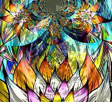 Flower Fractal Life by LiquidRainbowX