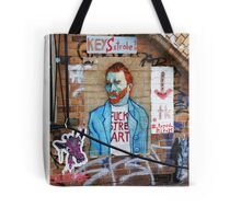 Van street art Tote Bag