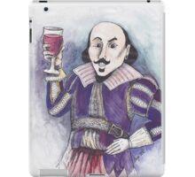 Wining Shakespeare iPad Case/Skin