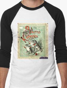 Ancient Three Little Kittens ART Men's Baseball ¾ T-Shirt