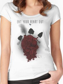 Eat Your Heart Out Women's Fitted Scoop T-Shirt