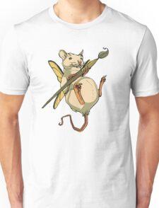 Artistic Rat Unisex T-Shirt