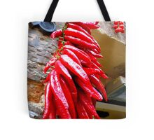Chillis in Italy Tote Bag