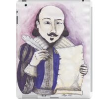 Shakespeare writing iPad Case/Skin