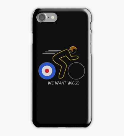 We Want Wiggo iPhone Case/Skin