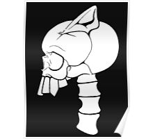Gothic Hybrid Skeleton  Poster