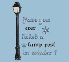 Have you ever licked a lamp post in winter? by airad