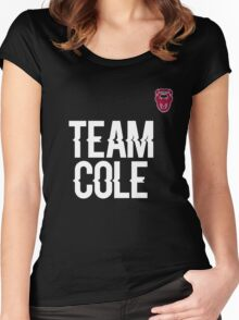 Team Cole Women's Fitted Scoop T-Shirt