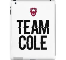 Team Cole iPad Case/Skin