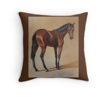 Tb Yearling, study Throw Pillow