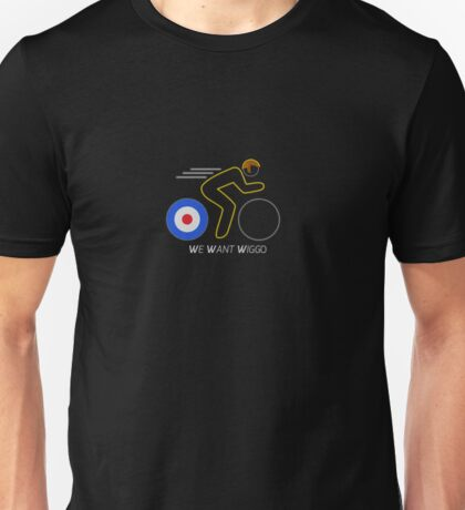We Want Wiggo Unisex T-Shirt