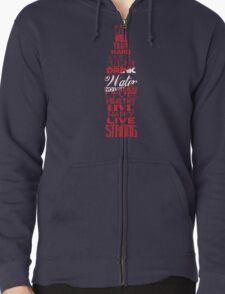 Live Strong Zipped Hoodie
