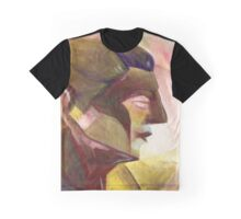 Cubist Head Graphic T-Shirt