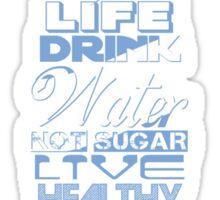 Live Strong - aqua Sticker