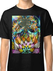Flower Fractal Life Classic T-Shirt
