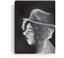 Blacklit Canvas Print