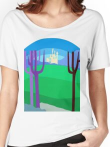 Distant Castle Women's Relaxed Fit T-Shirt