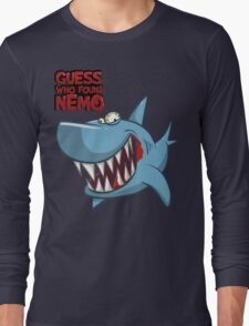 Guess who found Nemo Long Sleeve T-Shirt