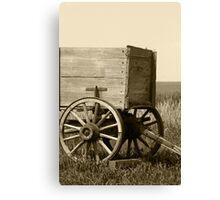 Wagon Hitch Canvas Print