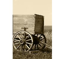 Wagon Hitch Photographic Print