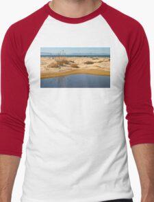 Water By The Ocean Men's Baseball ¾ T-Shirt
