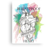 Bulletproof Heart - My Chemical Romance Canvas Print