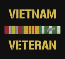 Vietnam Veteran Ribbon Bar by warishellstore