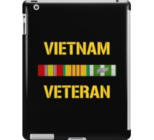 Vietnam Veteran Ribbon Bar iPad Case/Skin