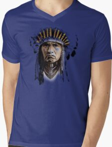 Indian Howling Mens V-Neck T-Shirt