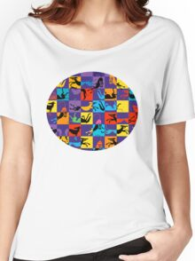 Pop Art Hounds Women's Relaxed Fit T-Shirt