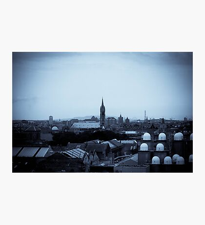 Rooftops  Photographic Print