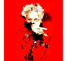 Kai_MONSTER_Exo_Red Photographic Print