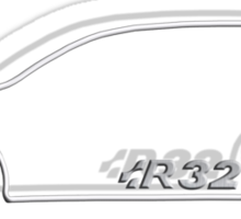 R32 MkV Sticker