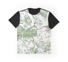 Berlin city map minimal Graphic T-Shirt